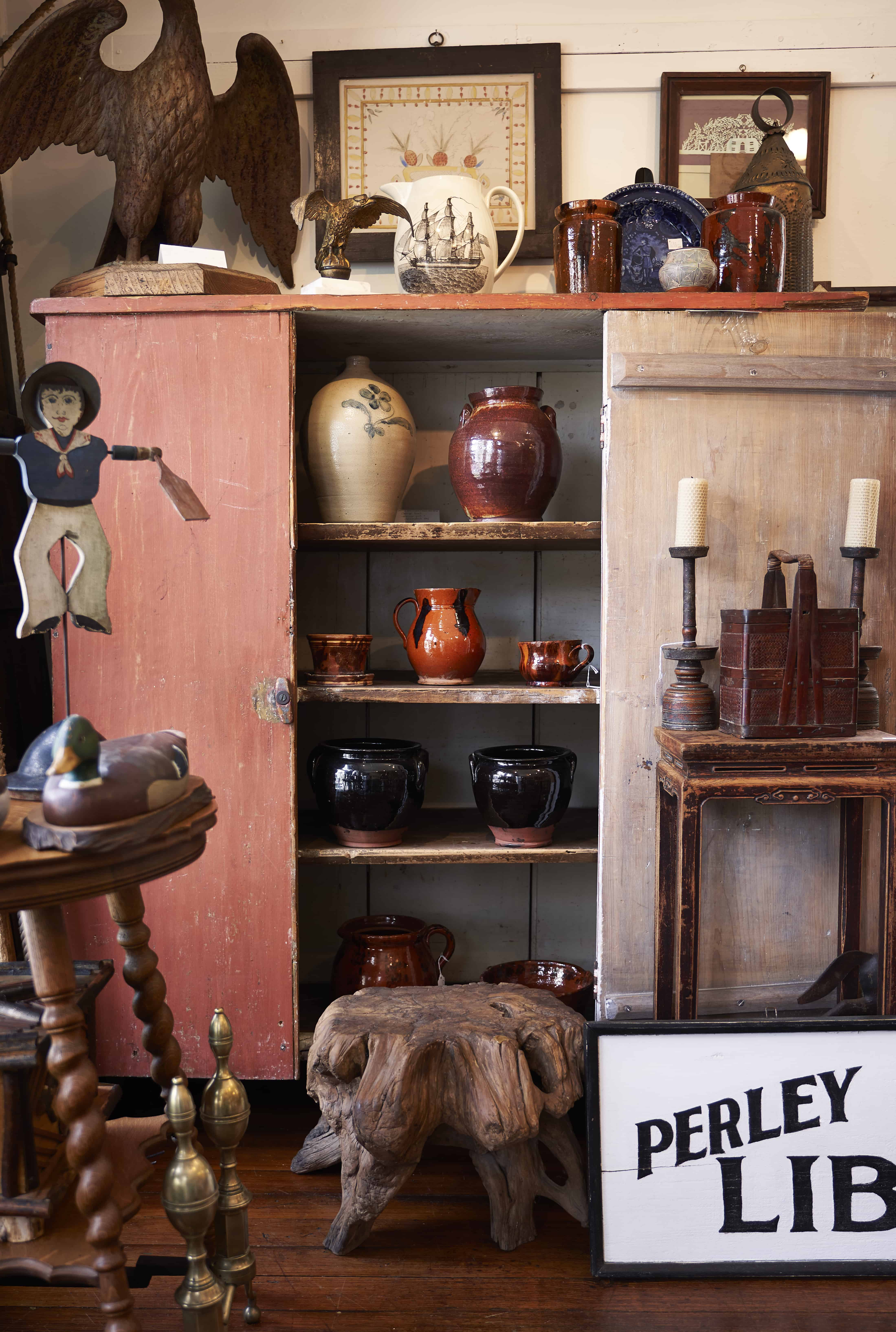 DAYTRIPPING MAINE : antiques